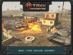 Tank Domination HD App. Shooting game apps.
