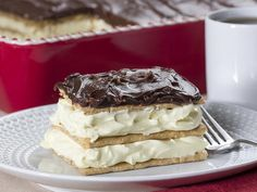 Who would dream that it would take just 5 ingredients to make this luscious no bake cake? Our Chocolate Eclair Cake is one of our most popular no bake dessert recipes, and it's simply too good to ever turn down!