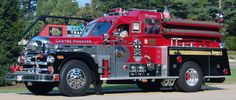 """1965 Seagrave S/N Centre Hanover, MA """"Engine Formerly served Revere, MA as """"Engine Now privately owned in Marshville, NC. by: Andrew Messer. Big Rig Trucks, Fire Trucks, Fire Dept, Fire Department, Ambulance, Fire In The Blood, Chariots Of Fire, Gmc Motorhome, Cool Fire"""