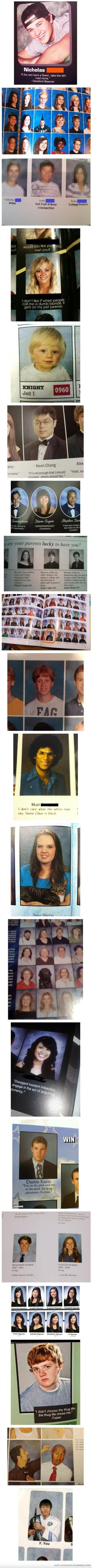 Yearbook wins and fails!