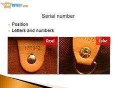 bdc7b697b9 Image result for how to spot a fake LOUIS VUITTON Louis Vuitton Vintage  Bags, Lv