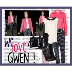 Gwen Stefani, created by croquette on Polyvore