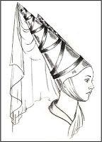Tululus: Peinado usado en Roma en forma de cono, realizado por una ornatrix.