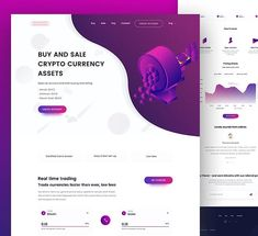 """431 Likes, 7 Comments - UX Choice (@uxchoice) on Instagram: """"Crypto Currency Retail Landing Page by Mufidul Islam Tapadar Follow  @uxchoice for UI/UX…"""""""