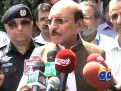 CM Sindh's slip of tongue Geo Reports 06 Jul 2015