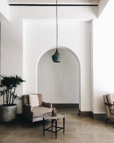 sfgirlbybay - 2 new articles Zen Interiors, Arch Doorway, Casa Patio, Interior Architecture, Interior Design, Konmari, Architectural Elements, Beautiful Space, Decoration