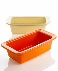 Fiesta Loaf Baking Pan in any color except for cobalt or turquoise