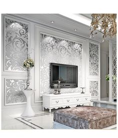 Cool idea to frame wallpaper