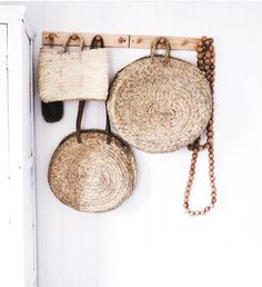 "Perfect for those early morning market strolls... *Ethical and eco-friendly alternative to plastic bags *Handwoven in Morocco *Made from wild palm ""doumdoum"" Height: 38 cm Width: 38 cm Length: 38 cm Handles: 25 cm (woven sisal handle) * Due to the sizing of this"