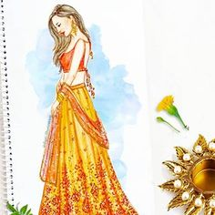 43 ideas fashion model drawing sketches art for 2019 Dress Design Sketches, Fashion Design Sketchbook, Fashion Design Drawings, Fashion Sketches, Drawing Sketches, Wedding Dress Sketches, Drawing Faces, Drawing Art, Fashion Model Drawing