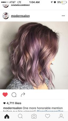 How to Get Lilac Hair for This Season? – Style Easily How to Get Lilac Hair for This Season? Lavender Hair Colors, Purple Highlights Blonde Hair, Lavender Highlights, Purple Balayage, Hair Color And Cut, Hair Colour, Red Color, Grunge Hair, Crazy Hair