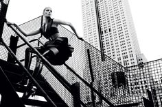 Manhattan rooftop par Txema Yeste | Numéro Magazine