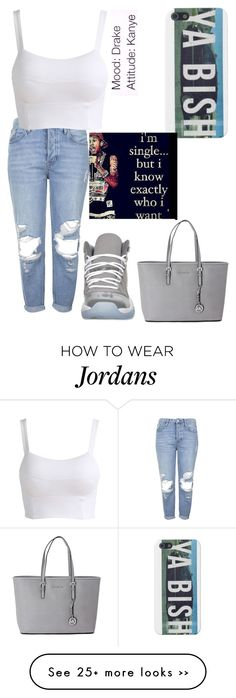 """Real Deal "" by kimah101 on Polyvore featuring Topshop and Michael Kors"