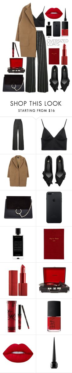 """""""Untitled #539"""" by seetheotheroceans ❤ liked on Polyvore featuring Balenciaga, T By Alexander Wang, Chloé, Agonist, Sloane Stationery, NARS Cosmetics, Crosley, Kylie Cosmetics, Lime Crime and Christian Louboutin"""