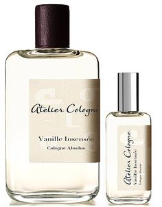 Vanille Insensee Cologne Absolu by Atelier, unbelievably awesome scent!