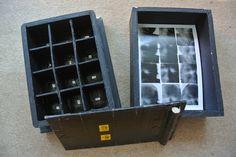 Homemade Box Camera with 12 holes - for light sensitive photo paper
