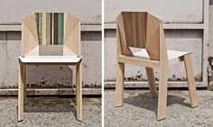 Scrap Facet Chair by Thinkk in home furnishings  Category