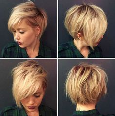 35- Short Hairstyles with Bangs