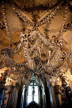 Kostnice (Church of Bones), Kutna Hora