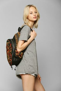 Sabrina Tach Nirvana Backpack available @Urban Outfitters