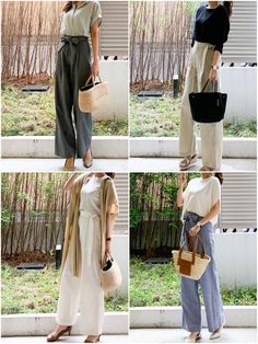 Business Fashion, Business Style, Fashion Outfits, Womens Fashion, Ladies Fashion, Gaucho, Japanese Fashion, Outfit Posts, Style Me