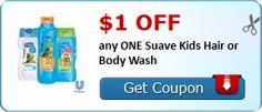 My Alabama Gulf Coast Mommy: Suave Kids Hair Products $0.29 each