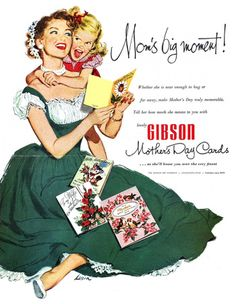 Gibson Mother's Day Cards Ad