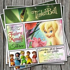 HECK FRIDAYS TinkerBell Birthday Party Idea tinkerbell for gab
