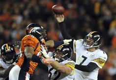 Steelers QB Ben Roethlisberger on track to start against Broncos...:… #Broncos #PittsburghSteelers #AJMcCarron #Bengals #BrockOsweiler