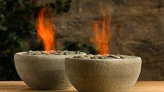 Flaming Rock Bowl!