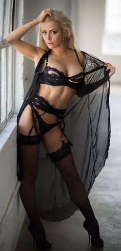 Seksowne czarne gils