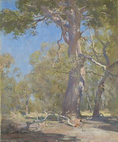 Our untidy bush, Sir Arthur Streeton, NGV Collection Online > artworks > 3069