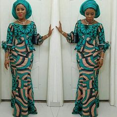 Ankara Skirt and Blouse Styles for Ladies .Ankara Skirt and Blouse Styles for Ladies Latest African Fashion Dresses, African Dresses For Women, African Print Fashion, African Attire, African Wear, African Women, Ankara Fashion, Ankara Skirt And Blouse, Ankara Dress