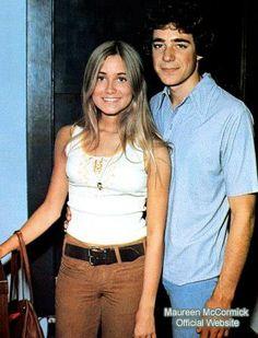 Maureen & Barry...   I like her outfit!
