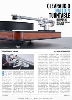 High-End Audio Magazine Design