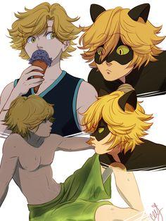 Serendipitous Fate: Adrien's Long Hair - visit to grab an unforgettable cool 3D Super Hero T-Shir