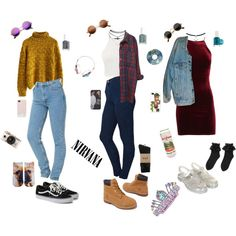 A fashion look from June 2015 featuring Chicwish sweaters, Monki tops and Levi's jackets. Browse and shop related looks.