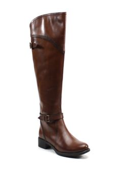 The Weekend Buckle Riding Boot