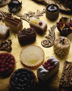| P | French Chocolates + Pastries