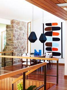 Retro mid-century modern home designed by Chris Dimond, Australia.   desire to inspire - desiretoinspire.net