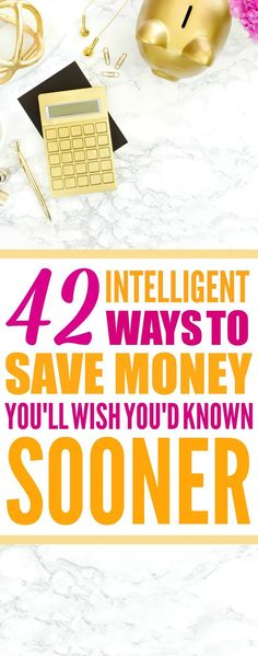 These 42 Money Saving Hacks every saver should know are THE BEST! I'm so happy I found these GREAT money tips! Now I have great ways to save money on almost everything in my life! Definitely pinning!