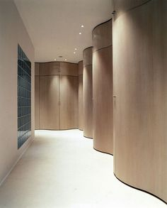 ANDRÉE PUTMAN: remembering a grand dame | Sculptural hall in a Shanghai home, 2004.| blog.thedpages