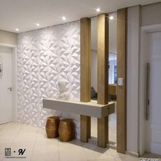 hall of entry the lighting junction and coating 3 Home Entrance Decor, House Entrance, Entryway Decor, Home Decor, Entry Foyer, Home Room Design, Home Interior Design, Living Room Designs, Living Room Partition Design