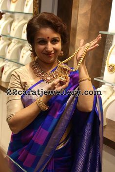 Revathi in Peacock Temple Jewellery - Jewellery Designs