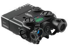Steiner DBAL-A3 Dual Beam Aiming Green Laser, IR Illuminator - Advanced System Black PEQ-15 (9008)