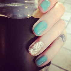 Getting better at doing my own shellac nail polish!