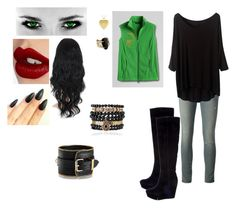 """Lily at Auradon Prep, Day 3"" by locksley-cxli ❤ liked on Polyvore featuring art"