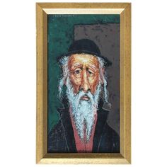 Shop paintings and other wall décor and wall art from the world's best furniture dealers. Arte Judaica, Modern Portraits, Painted Signs, Figure Painting, Antiques, Gallery, Modern Paintings, Wall Decorations, Vintage