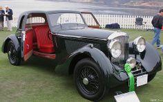 1935 Bentley 3.5 Litre Bertelli Coupé