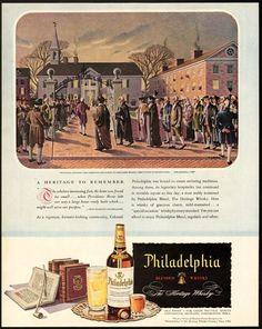 1946 Print Ad Philadelphia Whiskey Justice James Wilson | eBay